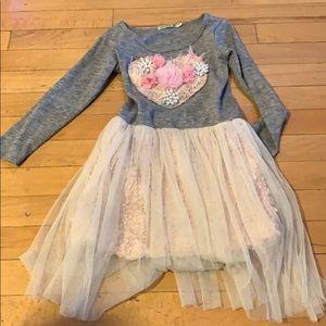 Little Mass unique dress size 5